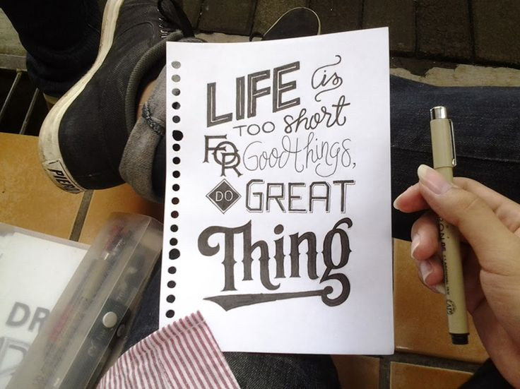 Typographic Quotes: Something To Believe In. Graphic design, tipografia e lettering. Iscrivetevi alla Community su Google+ e condividete i lavori preferiti!