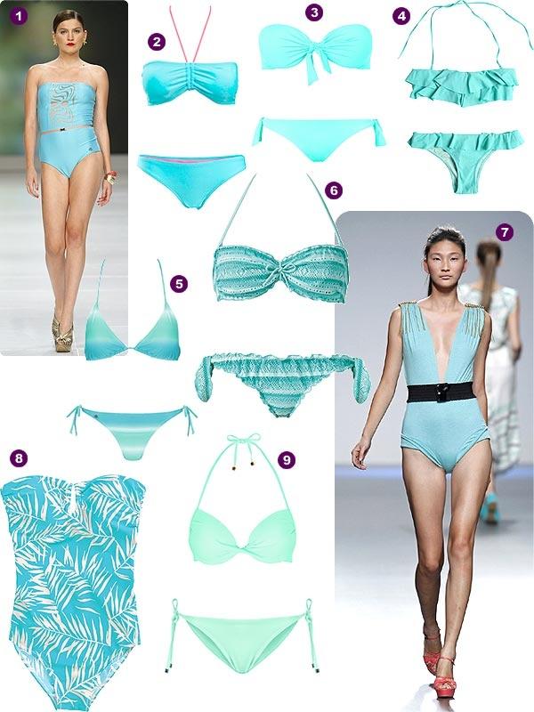 Trajes De Baño Color Turquesa:Más de 1000 ideas sobre Si Traje De Baño en Pinterest