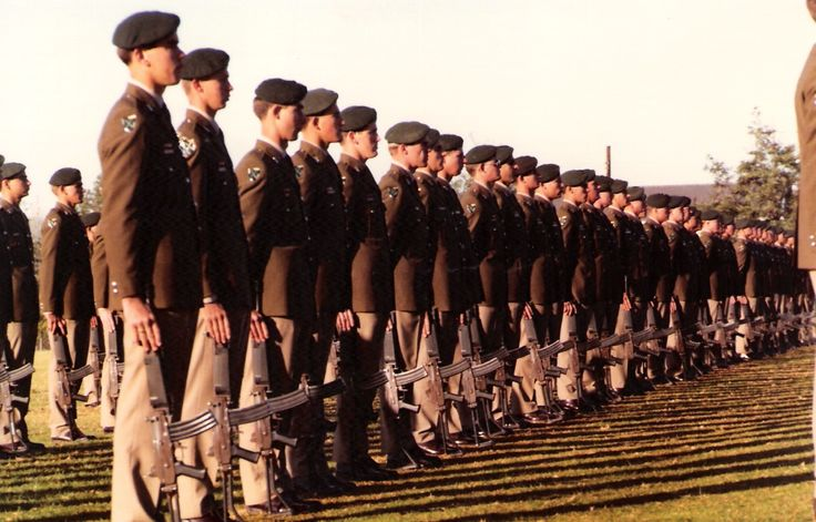 Infantry School passing-out parade June 84