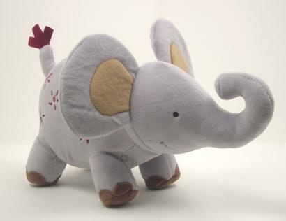 Awww..plush toys never go out of style.especially cute elephants
