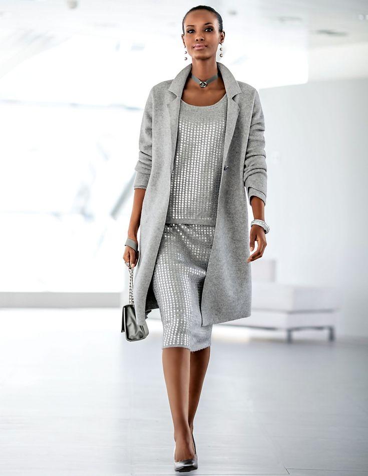 Mer enn 25 bra ideer om Silver sequin skirt på Pinterest | Midi-skjørt