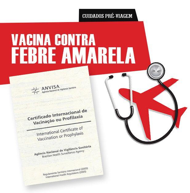 Top 10 países que exigem a vacina contra a febre amarela