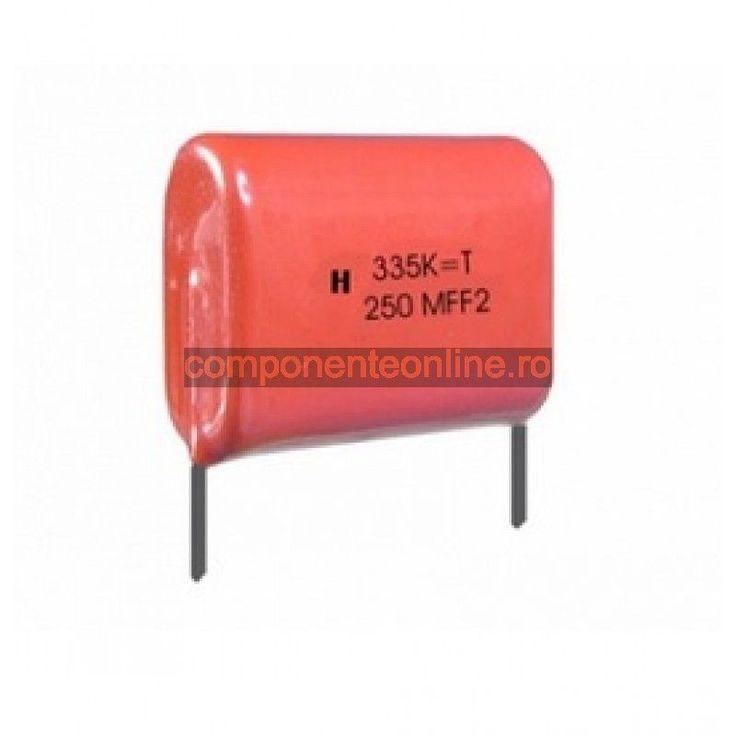 Condensator poliester, 1,5µF, 630V - 135337