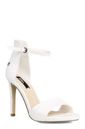 http://answear.cz/310375-blink-sandaly-na-podpatku.html #Lodičky  #Blink #Sandály #summer #white #wedding