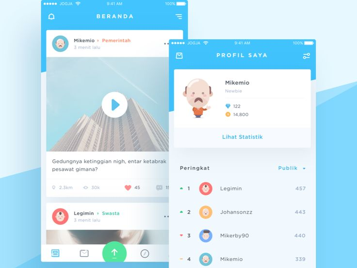 Long time not experimenting style. This time I try to redesign Qlue iOS app which I think there are a lot of improvement can be made from visual perspective. Let me know what you guys think :)