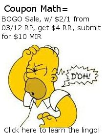 Great list of coupon lingo that I didn't even know!: Homer Simpson