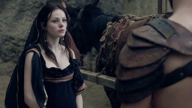 Season 1 Varro's wife Aurelia blames Spartacus for his ...