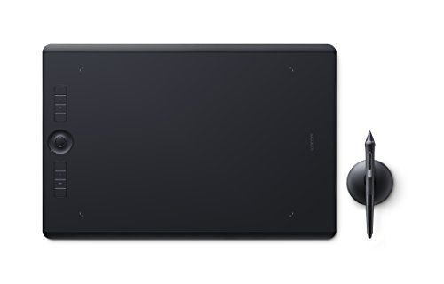 Wacom Intuos Pro Large - Tablette graphique à stylet professionnelle - Compatible avec Mac, Windows et de nombreux logiciels de création - X pouces - Noir #Wacom #Intuos #Large #Tablette #graphique #stylet #professionnelle #Compatible #avec #Mac, #Windows #nombreux #logiciels #création #pouces #Noir