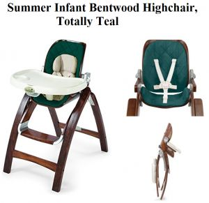 Check my review on Summer Infant Bentwood Highchair in Totally Teal from toddler on dining high chair booster seat, a Compact, Secure, Reclined and upgraded model of grow with baby wooden highchair.