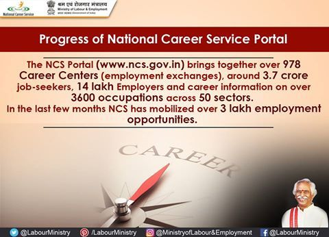 National Career Service - India, working progressively for enhancing the employability, through employment services and skill development in India.
