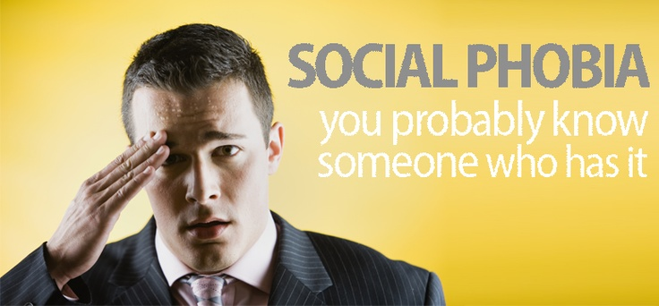 Battling social phobia: you probably know someone who has it. It's My Health