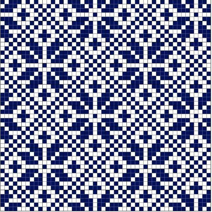 Patterns - works for knitting designs as well as cross stitch