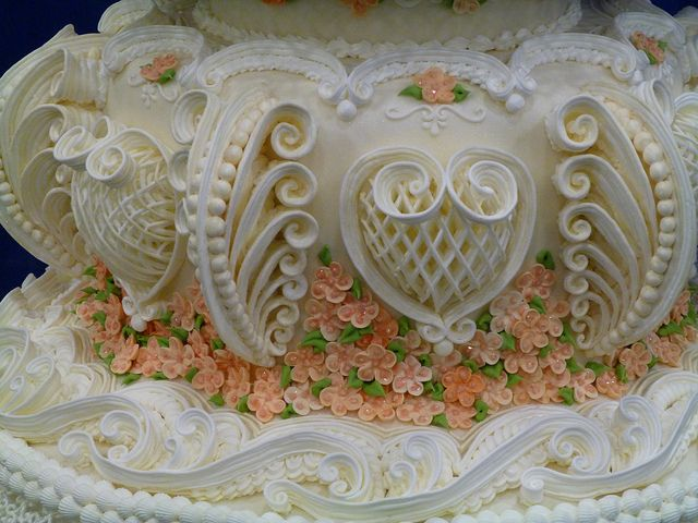 Intricate Piping Wedding Cakes