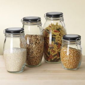 Shop Hermetic Storage Jars, Set of 4 at CHEFS.