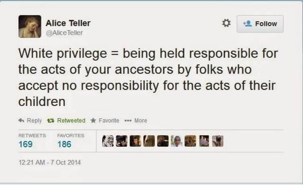 """""""The best definition of """"White Privilege"""" I've ever heard"""""""