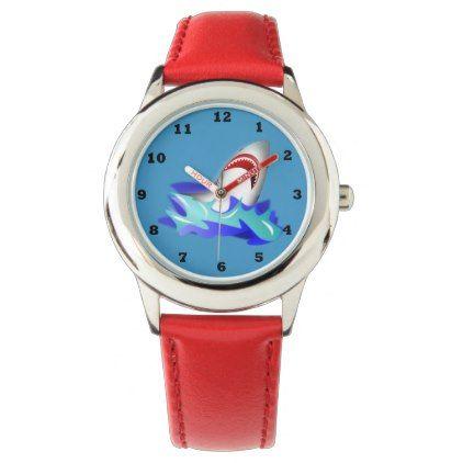 #fishing - #Kids Red Shark Watch