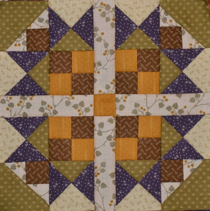 .Country Corners block #4. I LOVE THIS BLOCK! Here is...