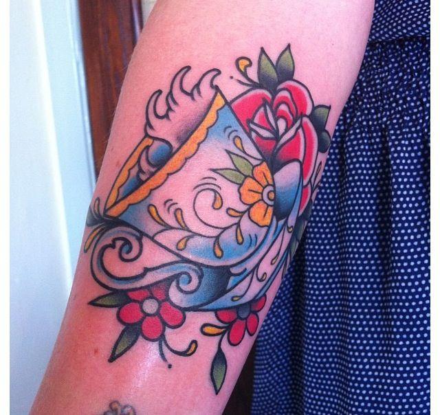 Teacup Tattoo Coffee Tattoos