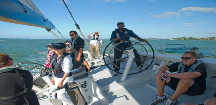 Sailing with Work colleagues