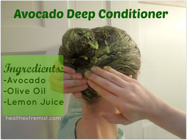 Get Silky Soft Hair with a Hair Avocado Mask