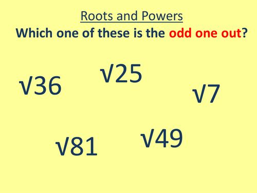 The 25+ best Square roots ideas on Pinterest Root mean square - square root chart template