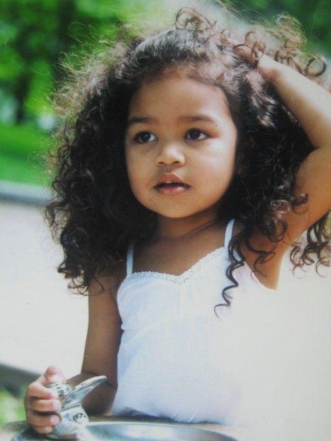 Biracial Baby Girl Curly Hair 8 best black & fil...