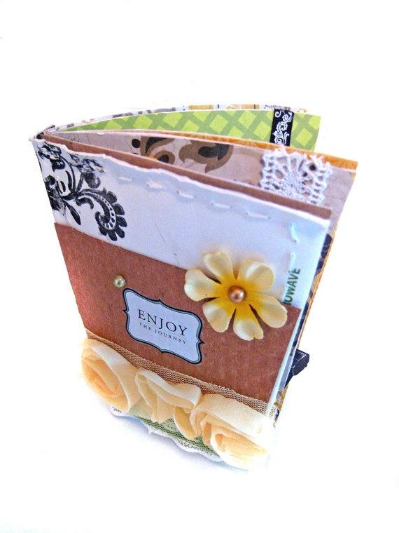 Coffee Scrapbook Album  Eco Friendly Photo Book by LatreiaDesigns, $18.00: Photo Books, Interesting Idea, Scrapbook Album, Friendly Photo