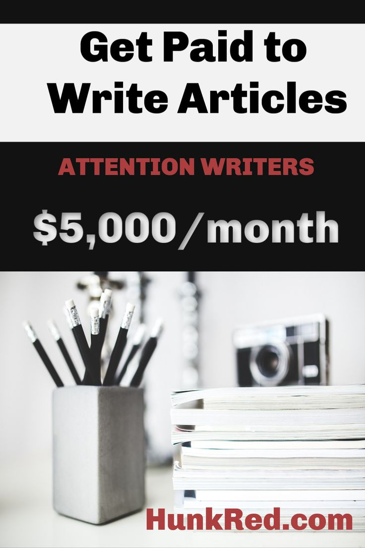 Paid article writing