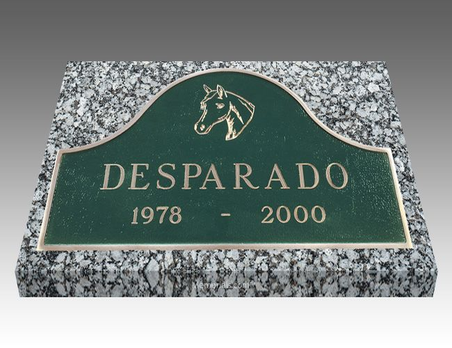 With our Arch Pet Headstone, you can memorialize your loved best friend forever.   All our Grave Markers are made to industry standards and regulations. Memorials.com has created a 5 Star Customer Service Rating Program for you to feel comfortable when purchasing from us. We are members of many trade organizations.