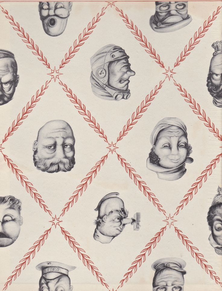 Rex Whistler: End paper from OHO, 1946.