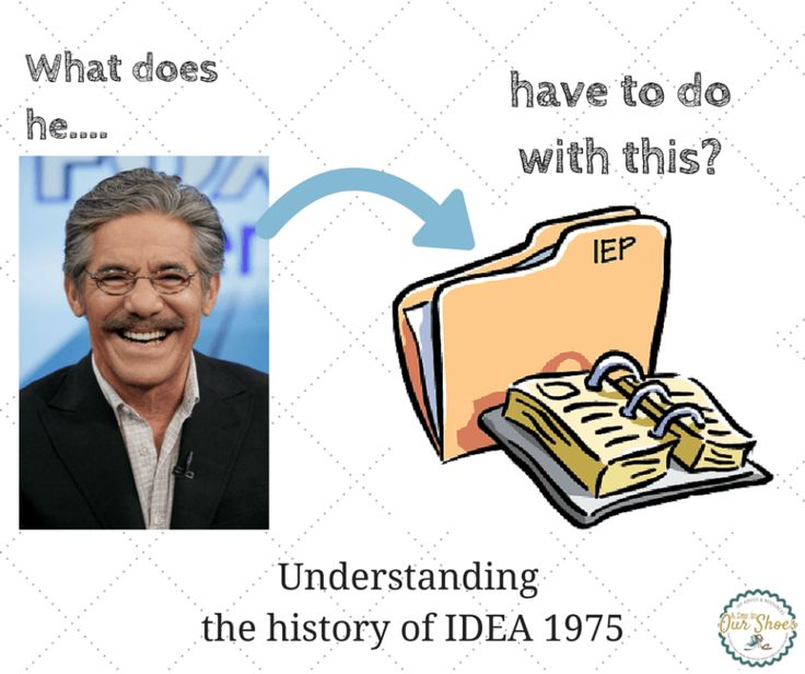 Many parents are unaware of the history behind IDEA 1975 and how it affects your child's special education. Most are surprised to learn that Geraldo actually played an important role.