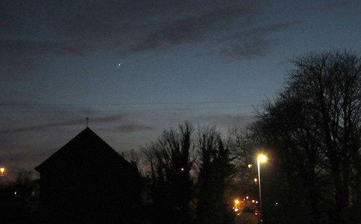 Venus in the twilight