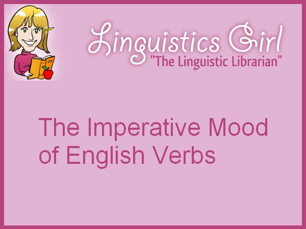The Imperative Mood of English Verbs