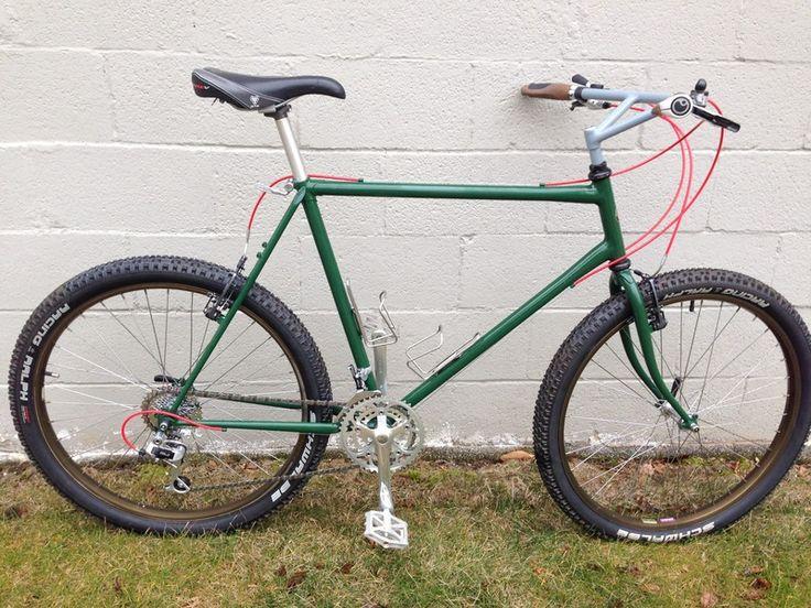 Steel MTB frame that will take 26 x 2.5? - Bike Forums