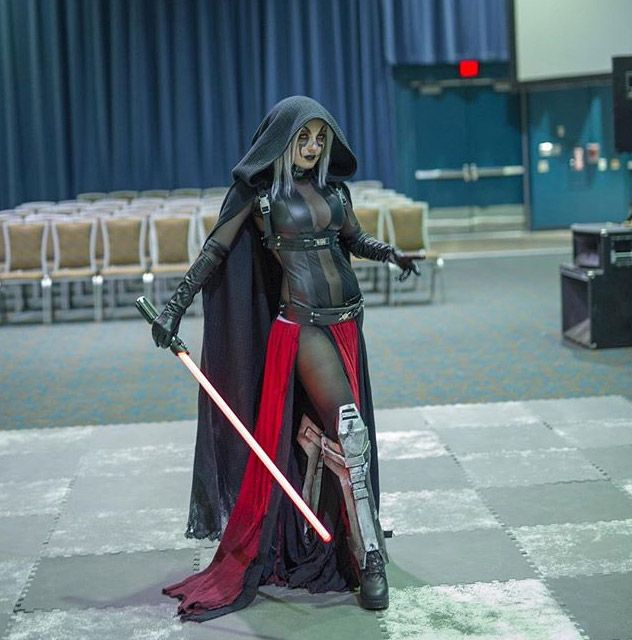 Sith Lord (Star Wars) Cosplay By: Jessica Nigri