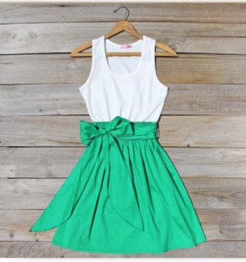 Green Casual Dresses