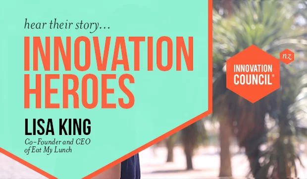Innovation Heroes, hear thier story - Lisa King - Eat My Lunch