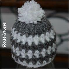 Bonnet crochet 018 Innocent Smoothie Hat