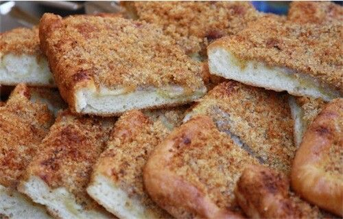 Altro piatto tipico siciliano: lo sfincione.: Il Buon, Buon Cibo, Altro Piatto, Tipico Siciliano, Piatto Tipico