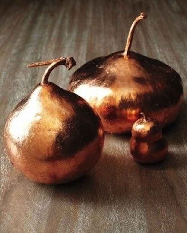 Or BRONZE GOURDS. | 42 Lovely Ideas For A Cold-Weather Wedding