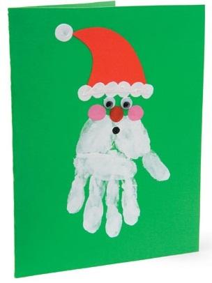 Handy Santa - Scrapbook.com