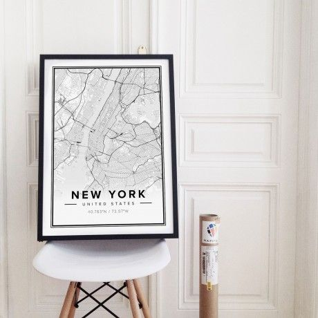 New York Modern Print by Mapiful from Sweden #MONOQI