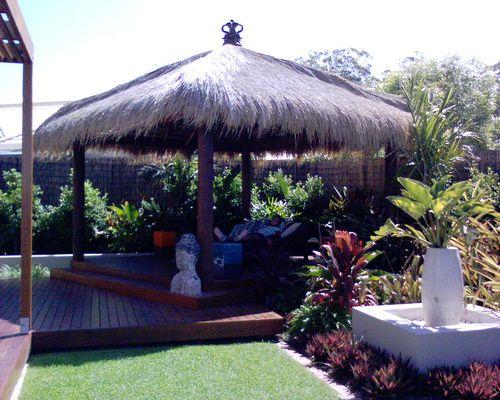 backyard tropical decorating ideas