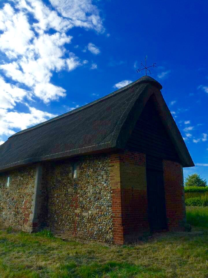 Very old, very small church in Wicken, Essex