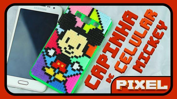 Case Mickey - Romero Britto | Pixel Art
