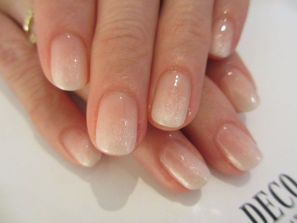 ombre french mani.