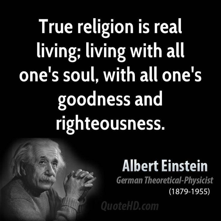 Albert Einstein Quotes On Religion. QuotesGram by @quotesgram