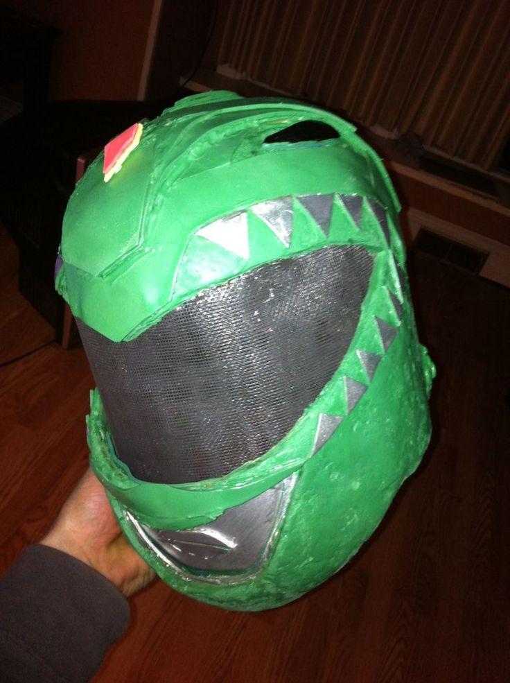 Cheap green power ranger helmet #costume #Halloween #tv