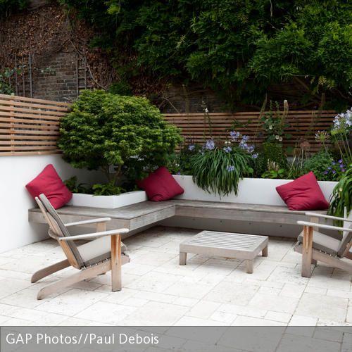 ikea gartenbank grau 094752 eine. Black Bedroom Furniture Sets. Home Design Ideas