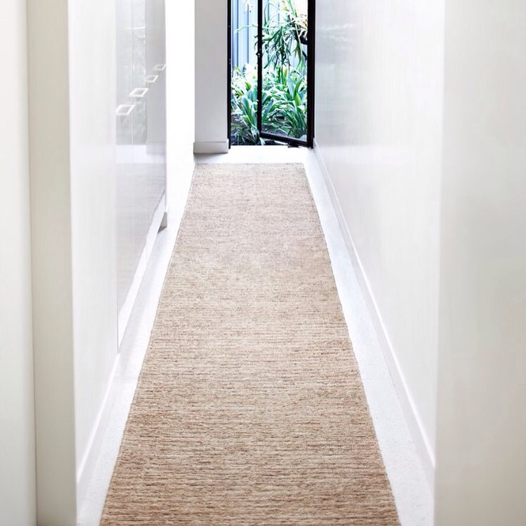 The new River Weave Echo Stripe works beautifully as a hallway runner   armadillo-co.com